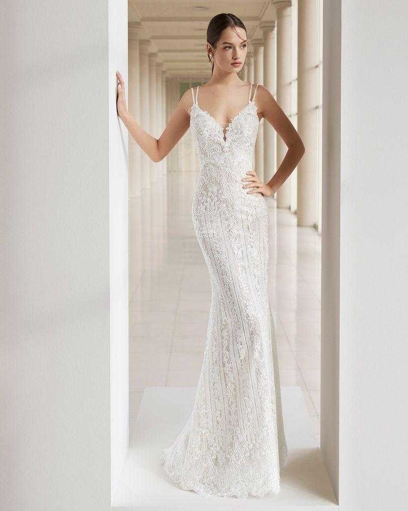 0eac07d88ec 30 vestidos de novia que te harán parecer más alta