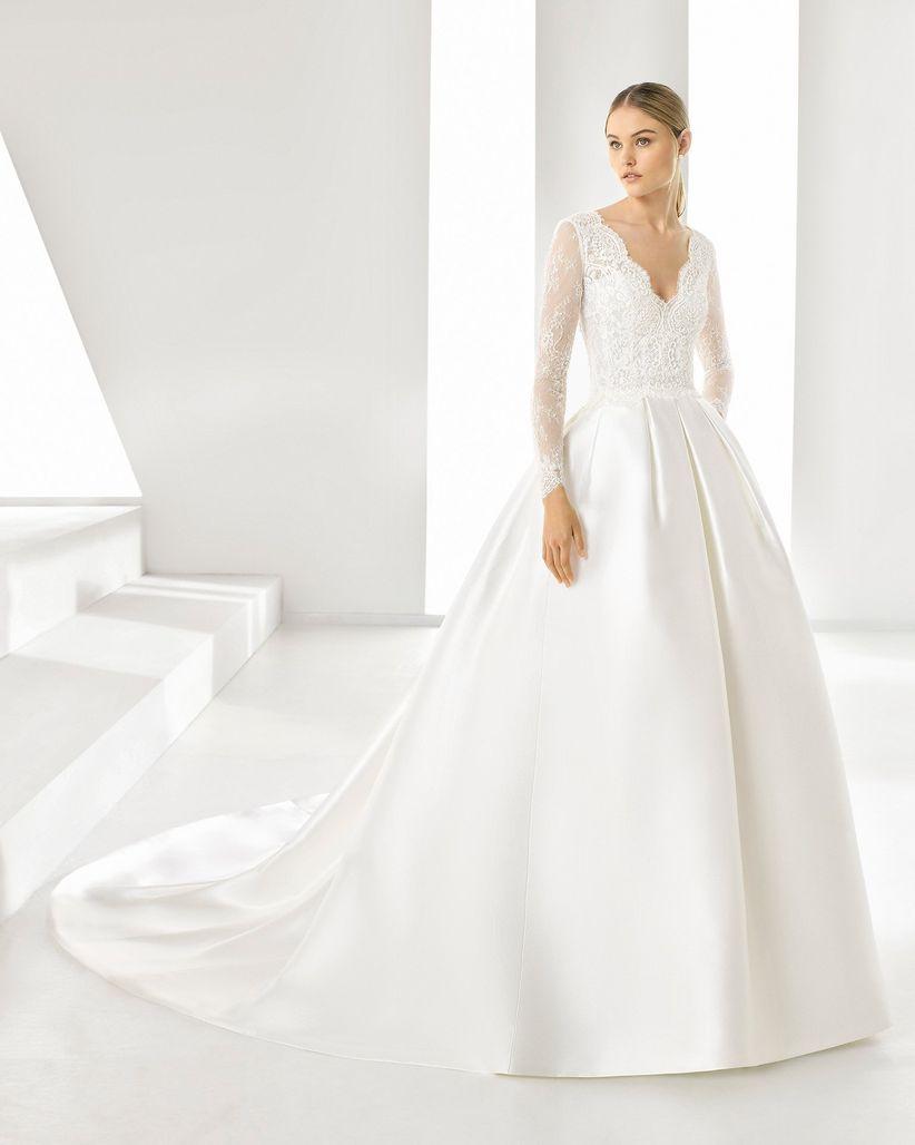 Vestidos de novia estilo corte princesa