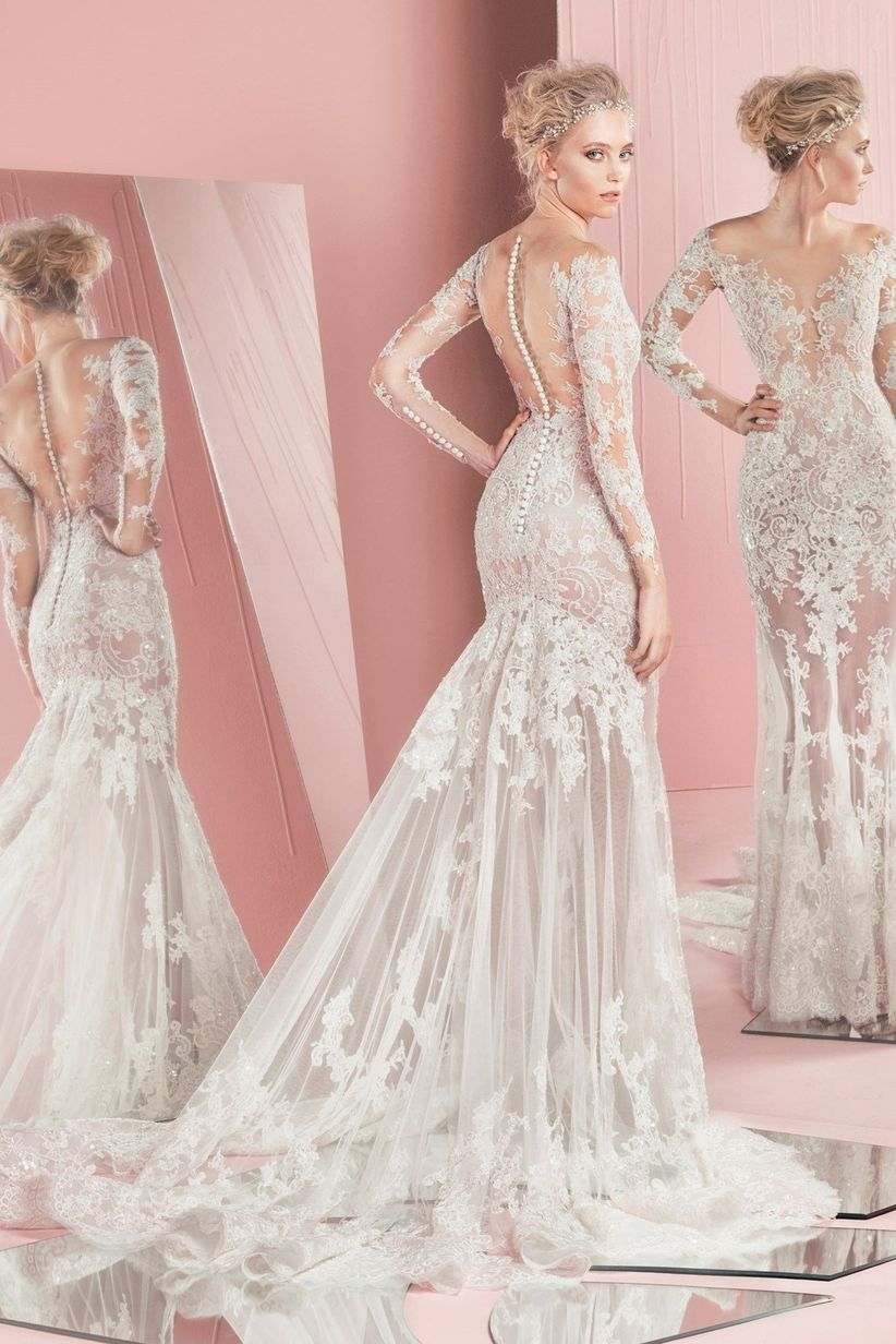 30 vestidos de novia 2017 corte sirena: Máxima seducción