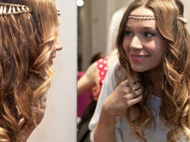 Consejos para llevar el pelo suelto en tu matrimonio