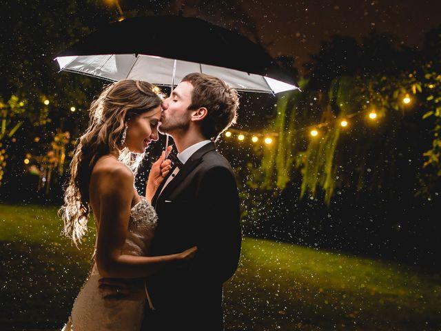 Tips para salir airosa si llueve en tu matrimonio