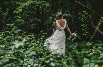 Look para una novia minimal: claves para triunfar