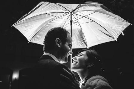 Simbología y ventajas de la lluvia en el matrimonio