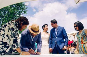 Quién puede ser testigo en el matrimonio civil