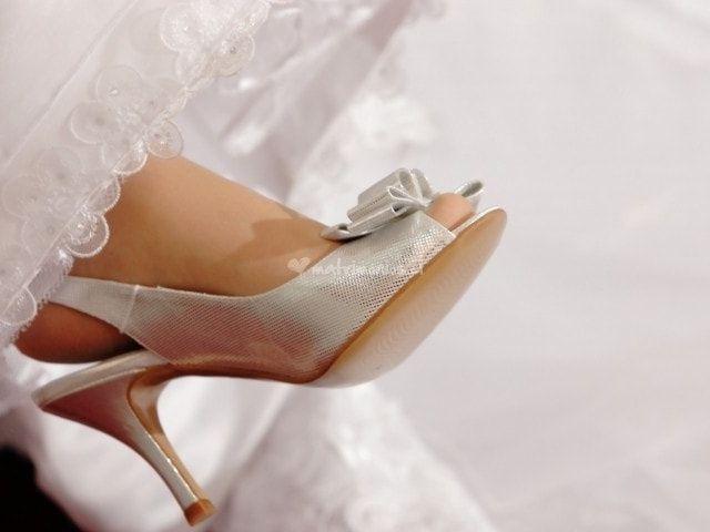 Cómo reutilizar los zapatos de novia después del matrimonio