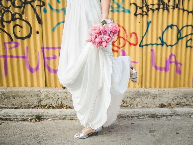 ¿Qué zapatos de novia usar si te casas al aire libre?