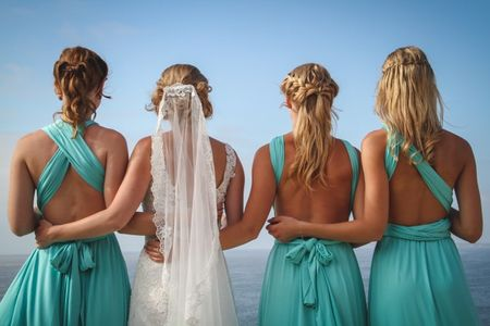 6 ideas para pedirles a tus amigas que sean tus damas de honor