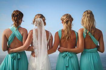 6 ideas para pedir a tus amigas que sean tus damas de honor