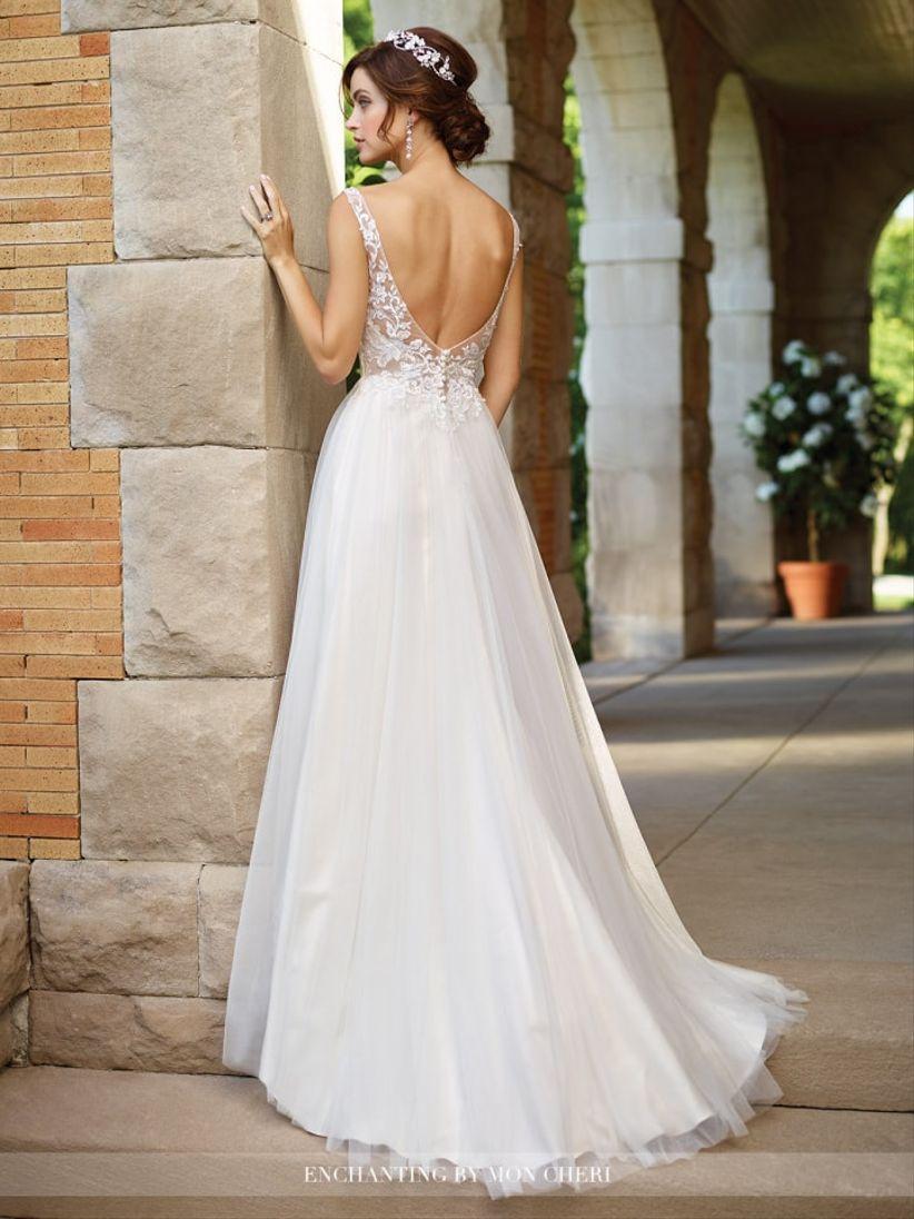 Vestidos de novia con espalda
