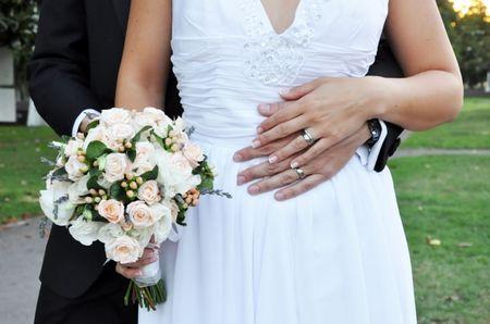 Argollas de plata para sellar el matrimonio