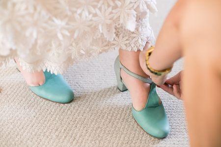 Consejos para hacer que tus zapatos de novia sean más cómodos