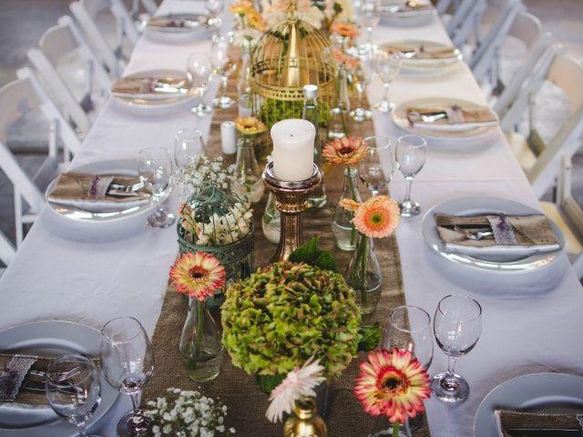 Centros de mesa para matrimonio: ideas para personalizar el tuyo