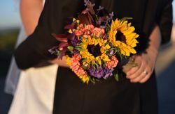 15 ramos de novia con mucho color