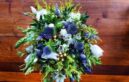 Ramos de novia con flores silvestres: ¡encanto campestre!