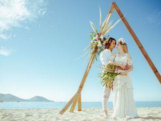 ¿Se casan en la playa? Las mejores fotos de post boda a la orilla del mar