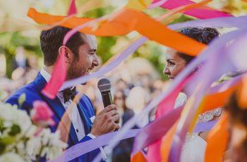 Cómo decorar un matrimonio más allá de las flores