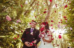 10 ideas para la salida de los novios en la ceremonia