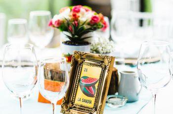 9 ideas para nombrar las mesas del matrimonio
