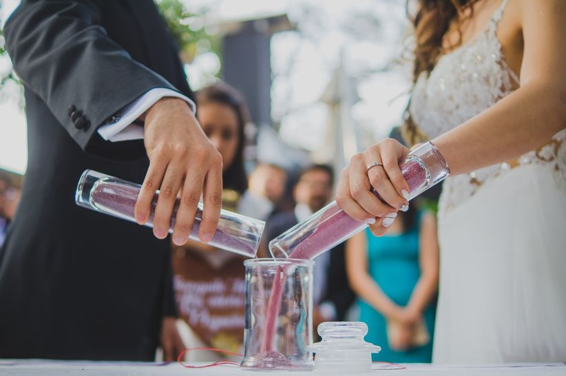 Guion Matrimonio Simbolico : Ceremonia de la arena: un ritual simbólico y único