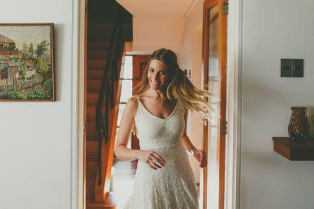 Peinados de novia con pelo suelto para un look espectacular