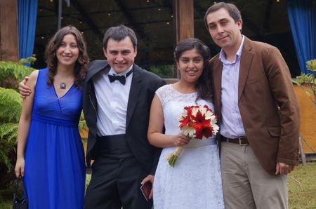 Los padrinos y las madrinas de matrimonio