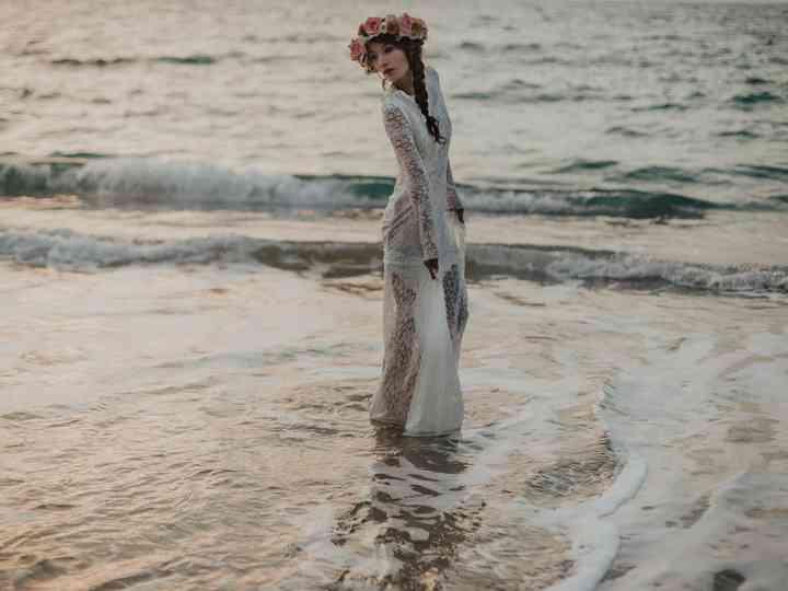 50 Vestidos De Novia Para Ceremonias En La Playa