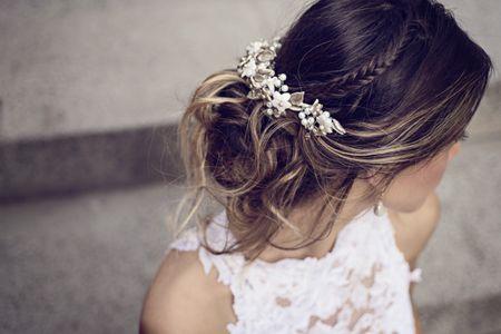 7 tocados de novia según el peinado