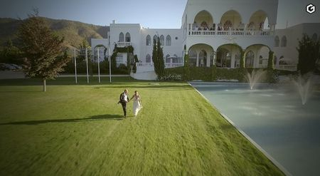 Videos con dron: tu matrimonio desde las alturas