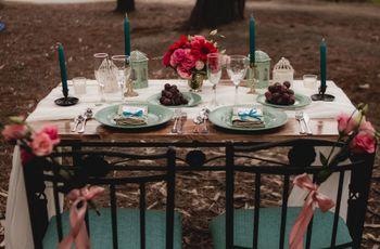 Estilo de matrimonio shabby chic: dulce inspiración