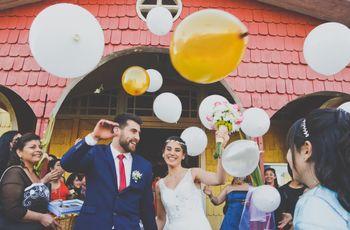 9 ideas para la salida de los novios de la ceremonia