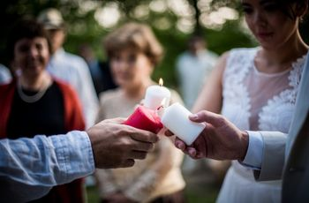 Por qué realizar la ceremonia de la luz el día de su matrimonio