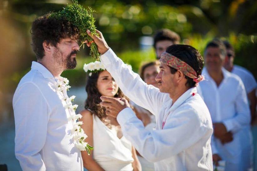 Matrimonio Budista : Ceremonias de matrimonio simbólicas