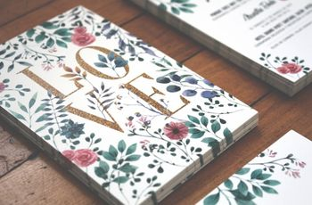 6 ideas de partes de matrimonio con inspiración primaveral