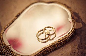 7 ideas para las fotos de las alianzas de matrimonio