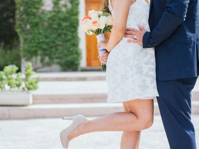 45 vestidos de novia cortos: ¡Atrévete con estos diseños!