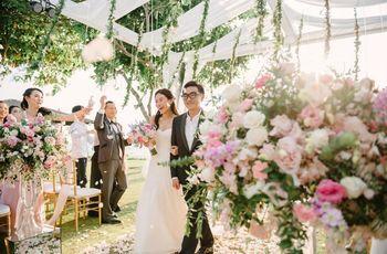 6 ideas para un romántico matrimonio en tonos pasteles