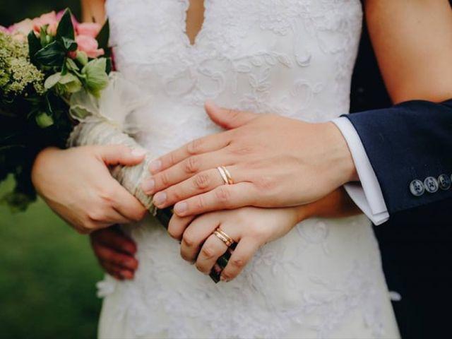 Anillos de oro para el matrimonio: toda una vida juntos
