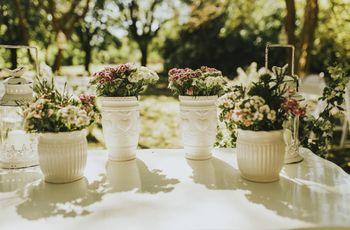 ¿Regalar flores a sus invitados? un recuerdo que todos sabrán apreciar