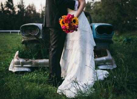 Un matrimonio de estilo vintage para soñar