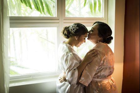 8 ideas de fotos madre e hija para tu matrimonio