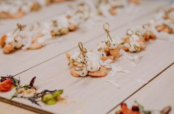 Tendencias gastronómicas para el banquete de matrimonio