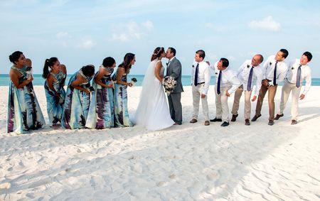 Damas de honor y best men: ¿cuál es su rol en el matrimonio?
