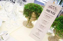 Las minutas para el banquete de tu matrimonio