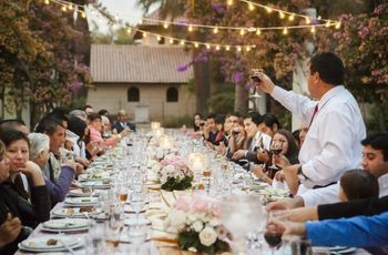 Consejos para celebrar la recepción y el banquete en tu casa