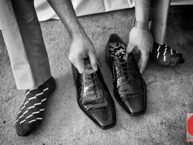 Geniales ideas para los calcetines del novio