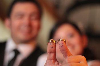 Símbolos de un matrimonio religioso