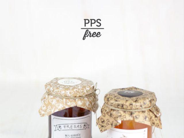 Etiquetas personalizadas para mermeladas de souvenir