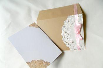 Haz tus propias invitaciones de matrimonio vintage