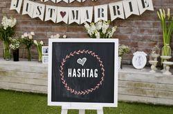 Encuentra el hashtag para tu matrimonio