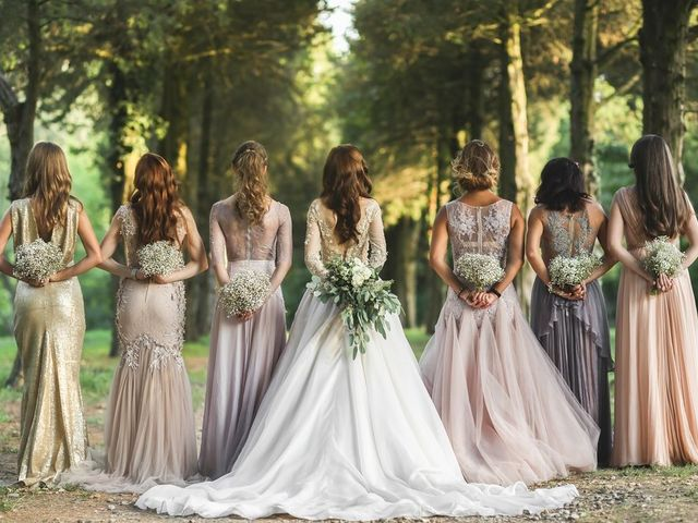 10 ramos para las damas de honor
